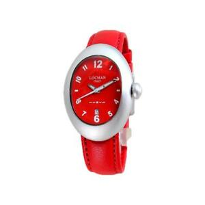 【送料無料】 腕時計 montrelocman nuovo 001500rd0008lnrアルミニウムcuirmontre femme locman nuovo 001500rd0008lnr aluminium cuir rouge