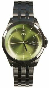 【送料無料】 腕時計 ktx watch 3 needle date date kx10107 men