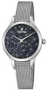 【送料無料】 腕時計 スワロフスキーfestinaf203363festina ladies with swarovski crystals mesh f203363 watch
