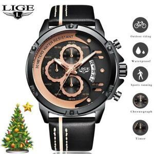 【送料無料】 腕時計 メンズトップブランドクロノグラフクオーツlige mens wristwatches top brand luxury chronograph quartz wristwatch man fa