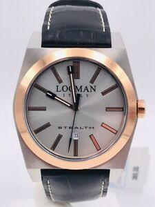 【送料無料】 腕時計 ステルス listingwatch locman stealth date quartz 201 aosk365 42mm wide leather
