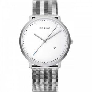 【送料無料】 腕時計 ベーリングサファイアクリスタルスチールケースbering sapphire kristall, 11139004 abmessung 39 mm steel case