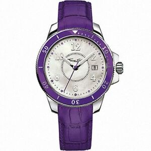 【送料無料】 腕時計 トーマス¥スチールウォッチwa0123 genuine thomas sabo glam amp; soul ssteel watch on purple leather 235