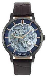 【送料無料】 腕時計 ケネスメンズウォッチkenneth cole mens automatic brown leather kc50559001 watch