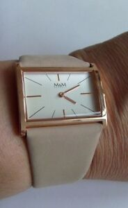 【送料無料】 腕時計 mm119055992m germanymamp;m germany watch for women m119055992 gold plated best basic