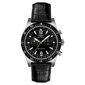 【送料無料】 腕時計 ロータリーダrotary gs9003119 orologio da polso retrotimer da uomo