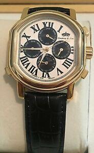 【送料無料】 腕時計 リンドバーグゴールドウォッチlindberg amp; sons multifunctions gold automatic watch