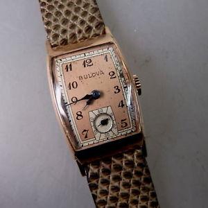 【送料無料】 腕時計 rare mensブローヴァタイプバラ50982goldfilledrare mens wristwatch bulova type sentry ros goldfilled 50982