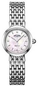 【送料無料】 腕時計 ロータリーレディースステンレススチールブレスレットポンドウォッチrotary ladies stainless steel bracelet lb0089907d watch
