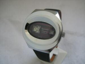 【送料無料】 腕時計 スイスデジタルスチールウォッチnos swiss gigandet digital waterresist steel watch