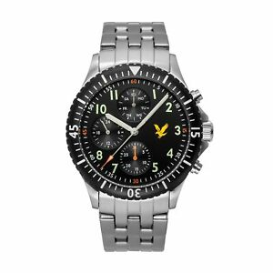 【送料無料】 腕時計 ライルスコットメンズゴールデンイーグルスチールブレスレットlyle amp; scott ls600811 mens golden eagle steel bracelet wristwatch