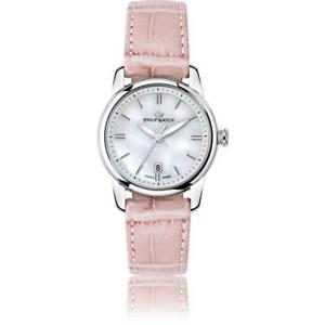 【送料無料】 腕時計 レディースフィリップケントレザーピンクホワイトスイスwomens wristwatch philip watch kent r8251178507 leather pink white swiss made