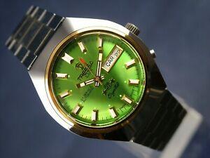 【送料無料】 腕時計 ビンテージレトロスイスルクスvintage retro swiss tressa lux crystal automatic watch 1970s nos cal as 5206