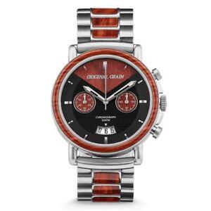 【送料無料】 腕時計 original grain alterra redwood chronowrist watch original grain alterra redwood chrono