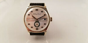【送料無料】 腕時計 グランプリビンテージmathey tissotgrand prix vintage automatic gents day date watch