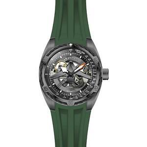 腕時計 メンズアビエータースチールブレスレットケースアナログウォッチinvicta mens aviator green steel bracelet amp; case automatic analog watch 28169