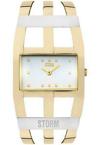 【送料無料】 腕時計 genuine storm london ladies zoa gold wristwatch bnibguarantee 47342gdgenuine storm london ladies zoa gold wristwatch bnib