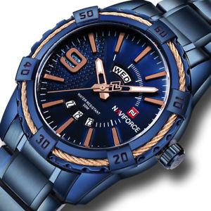 【送料無料】 腕時計 フルスチールクォーツスポーツビジネスmen watches full steel quartz waterproof sport business military wristwatch gift