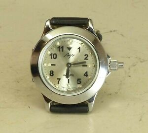 【送料無料】 腕時計 2356calluchクオーツロシアluch quartz russian wrist watch for blind people 2356 cal