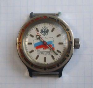 【送料無料】 腕時計 vostokwostokヴィンテージロシアussrvostok amphibian watch wostok vintage russian wristwatch ussr