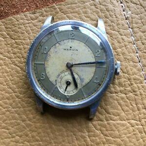 【送料無料】 腕時計 ヴィンテージマービンカラトラバ240svintage marvin calatrava two tone watch 40s