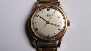 【送料無料】 腕時計 ヴィンテージワインダーmedana meda vintage watch handwinder cal 377