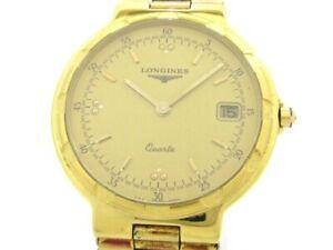 【送料無料】 腕時計 ゴールドメンズauth longines conquest gold 24514322 mens wrist watch