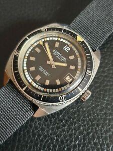 【送料無料】 腕時計 ビンテージダイバーmステンレススチールケースvintage mirexal diver 200m automatic, stainless steel case