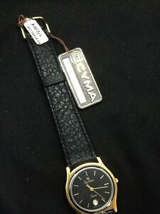 腕時計 ルロクルレディースウォッチカレンダーcyma le locle ladies watch nos  30,6mm calendar