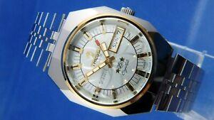 【送料無料】 腕時計 ヴィンテージretroスイスtressaラックス1970nos cal as52061vintage retro swiss tressa lux crystal automatic watch 1970s nos cal as 52061