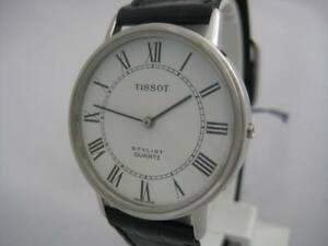 【送料無料】 腕時計 スイスティソスタイリストメンズアナログnos quartz swiss made special tissot stylist mens analog watch 1980s