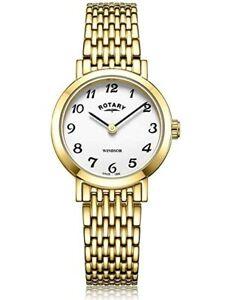 【送料無料】 腕時計 ロータリーウィンザーレディースゴールドメッキウォッチポンドrotary windsor ladies gold plated watchlb0530318