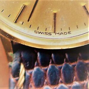 腕時計 dugenaクオーツwomensバッテリーsimple and clean gold dugena quartz womens wrist watch,  battery