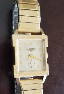 【送料無料】 腕時計 ビンテージメンズフラットベゼルアールデコキャリバーウォッチvintage mens longines flat bezel art deco wrist watch caliber 9lt ref 5104