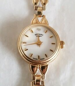 【送料無料】 腕時計 イエローゴールドレディースロータリースイスシェフィールドa 9ct yellow gold ladies wrist watchby rotary swiss made sheffield 1993