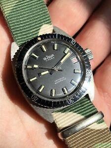 【送料無料】 腕時計 ビンテージオートスチールスイスダイバーウォッチvintage lejour automatic steel swiss boysize diver watch