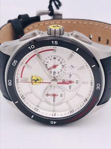 腕時計 スクーデリアフェラーリクロノスキンwatch scuderia ferrari chrono sf11375 steel  skin 45mm on