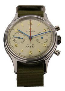 【送料無料】 腕時計 シーガルクロノグラフパイロットgenuine seagull chronograph man wristwatch pilot icail reissue 304 st19 1963