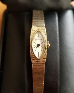 【送料無料】 腕時計 ゴールドレディースlongines ladies 10k rolled gold watch 926510