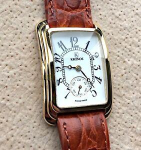 【送料無料】 腕時計 ヴィンテージウォッチnos kronos gold plated vintage watch 26,5 watch