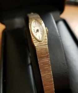 腕時計 ゴールドレディースlongines ladies 10k rolled gold watch 926510