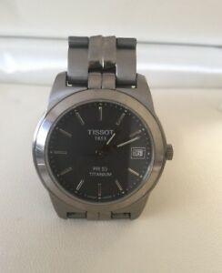 【送料無料】 腕時計 ヴィンテージティソ1853pr50チタンmens1365 vgcvintage tissot 1853 pr50 titanium mens quartz watch 1365 vgc