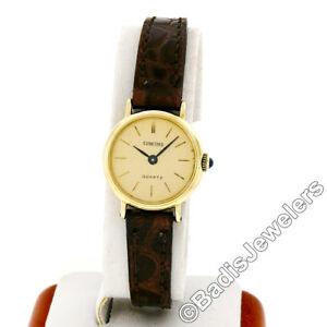 【送料無料】 腕時計 レディースkイエローゴールドベゼルサファイアストラップconcord ladies 14k yellow gold 22mm bezel sapphire quartz strap wrist watch