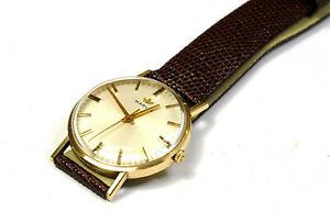 【送料無料】 腕時計 ヴィンテージゴールドマーウォッチロンドンvintage 9ct gold marvin 17 jewels wrist watch cal 621 london 1973