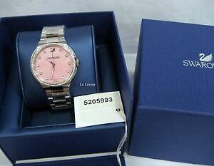 【送料無料】 腕時計 スワロフスキーローズブレスレットレディーススイスクオーツswarovski city rose bracelet watch, ladies, swiss quartz authentic mib 5205993
