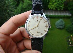 【送料無料】 腕時計 ビンテージスイスミリvintage cyma cymaflex handwinding swiss made watch 36mm all steel all original