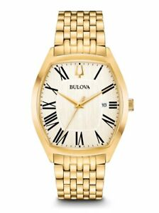 【送料無料】 腕時計 メンズクラシックゴールドトーンステンレススチールアンバサダーウォッチ bulova mens classic gold tone stainless steel ambassador watch 97b174