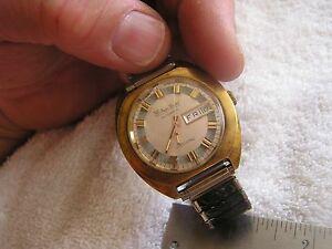 【送料無料】 腕時計 ビンテージvintage lucien piccard automatic luccard day date modern