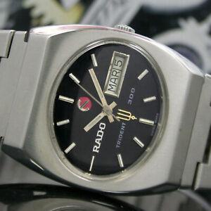 【送料無料】 腕時計 ラドー300mensrado trident 300 day date automatic steel mens wrist watch