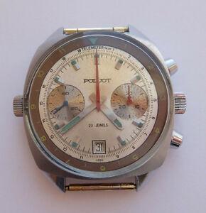 【送料無料】 腕時計 ビンテージソビエトロシアソクロノグラフウォッチpoljot vintage ussr russian soviet watch chronograph sturmanskie 3133 59035